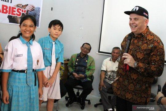 Dubes Amerika Serikat kunjungi Ketapang bantu pencegahan rabies