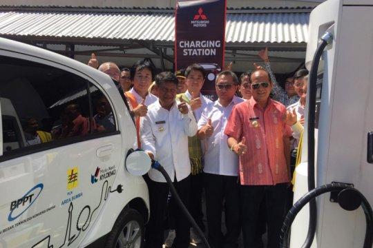 Mitsubishi Motors resmikan studi pemanfaatan energi terbarukan Sumba