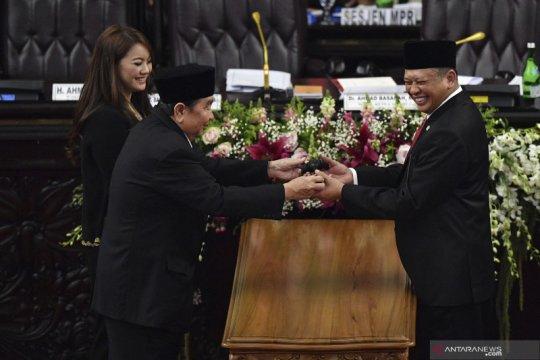 Bamsoet terpilih secara aklamasi sebagai Ketua MPR RI 2019-2024