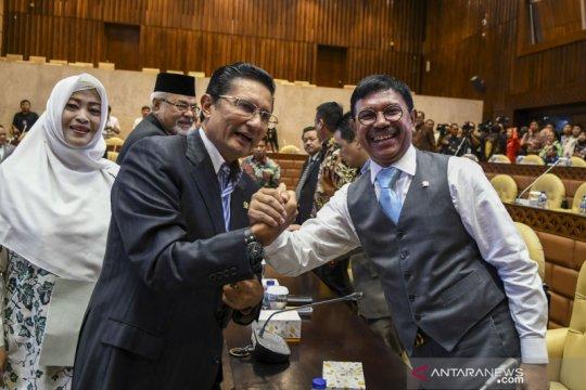Rapat gabungan persiapan pemilihan pimpinan MPR