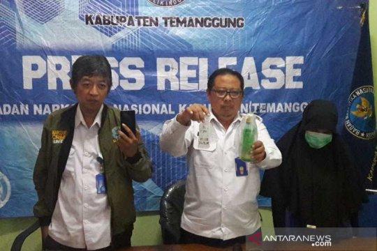 BNN Temanggung tahan penjahit penyimpan sabu-sabu
