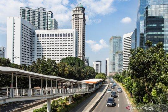 Cuaca cerah berawan sambut Jakarta pada Rabu pagi