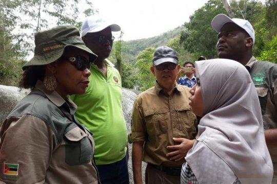 Belajar pengelolaan hutan, Pemerintah Mozambik-FAO datang ke Sulteng