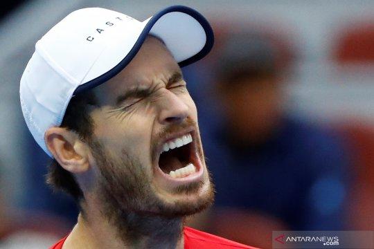 Alih-alih melawan Federer, Murray akan hadapi 'Baby Fed' pada ATP Cup