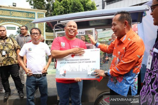 Bank DKI gandeng PKL Sunda Kelapa dorong transaksi non tunai