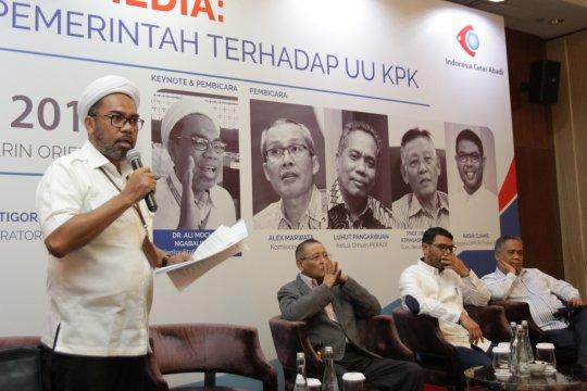 Diskusi tentang UU KPK