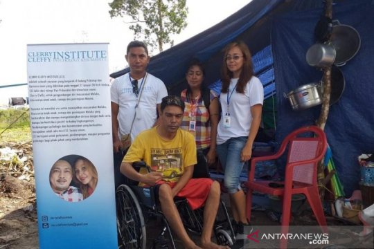 CCI bantu pengungsi disabilitas korban gempa Ambon
