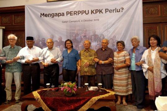 Tokoh senior nasional dukung Presiden segera terbitkan Perpu KPK