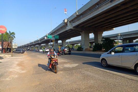 Sudinhub Jaktim: Lalin Kalimalang kondusif usai pembongkaran trotoar