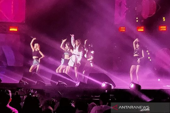 (G)I-DLE disambut hangat Neverland di panggung Spotify OnStage Jakarta