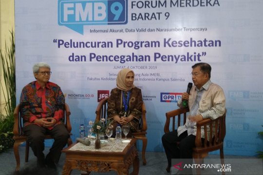 Jusuf Kalla sindir daerah yang bangga tangani banyak pasien