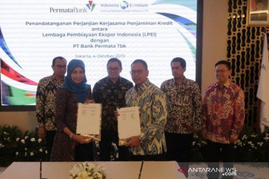 LPEI dan Bank Permata kerja sama penjaminan kredit ekspor