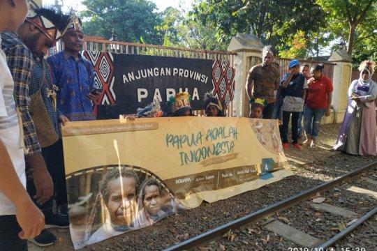 Papua terkini - Mahasiswa Papua deklarasi perdamaian Bumi Cendrawasih