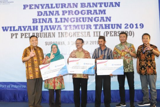 Pelindo III gelontorkan CSR Bina Lingkungan Rp2,4 miliar