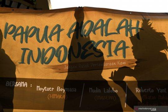 Mahasiswa Papua deklarasikan cinta damai