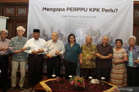 Dukungan buat presiden untuk keluarkan Perppu KPK