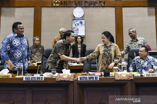 Rapat pembagian ruang kerja anggota DPR