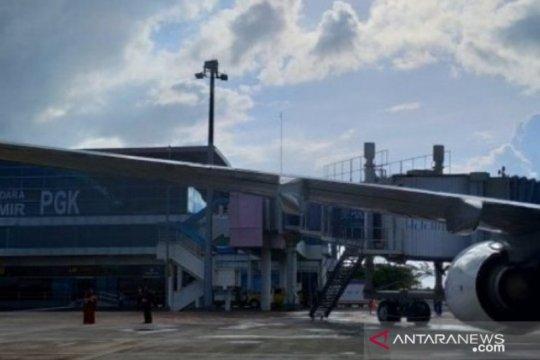Jumlah penumpang angkutan udara di Babel meningkat