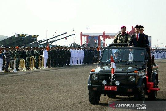 Pemerintah tambah 60 jabatan perwira tinggi TNI
