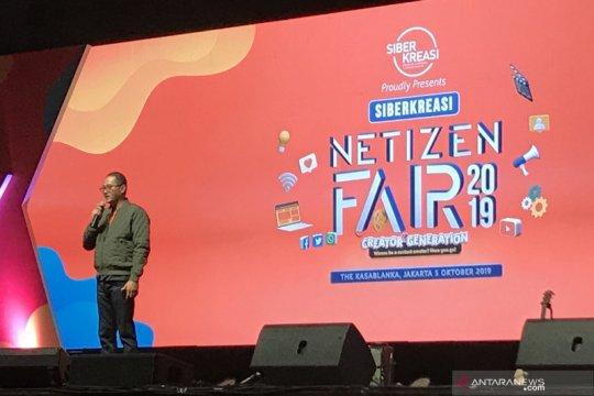 Dorong literasi digital Siberkreasi Netizen Fair 2019 kembali digelar