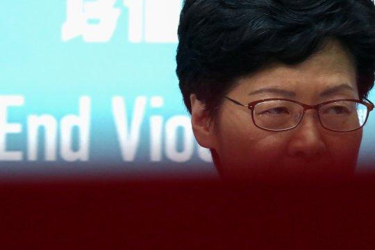 China berencana ganti pemimpin Hong Kong Carrie Lam