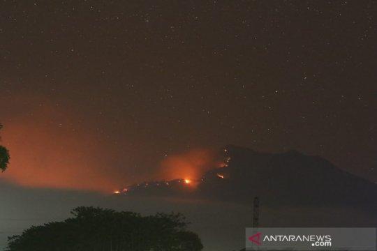 Interval letusan Gunung Raung diperkirakan 1,2 sampai 2,5 tahun