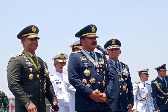 Panglima: Drone CH4 jadi pembeda peringatan HUT Ke-74 TNI
