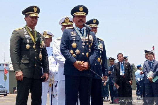 Persiapan pelantikan Presiden, Panglima: TNI dukung kepolisian