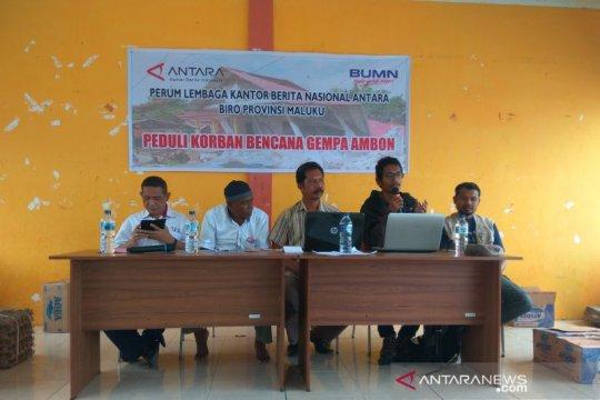 P2LD LIPI sosialisasi kegempaan di Desa Morela