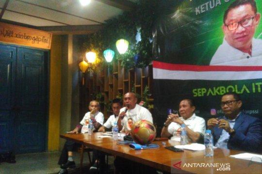 Fary Djemy Francis, ingin pimpin PSSI bermodalkan cinta sepak bola