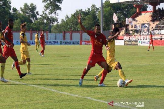Kalteng Putra bermain imbang 1-1 dengan Barito Putera