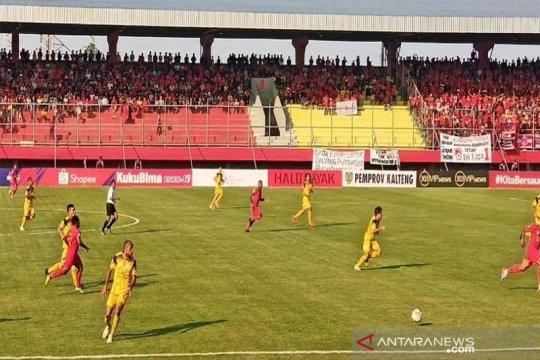 Kalteng Putra ditahan imbang Barito Putera 0-0 babak pertama