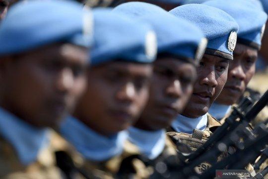 Menlu: tidak ada pasukan perdamaian Indonesia terinfeksi COVID-19