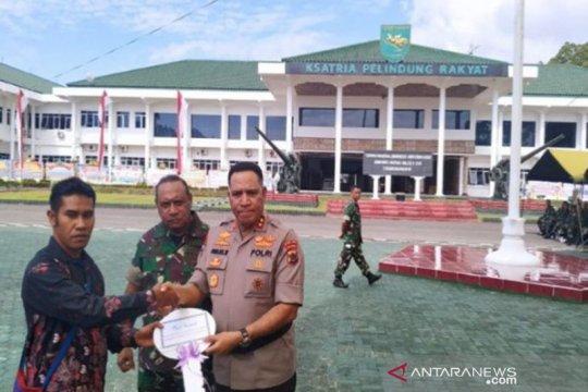 HUT Ke-74 TNI diperingati sederhana di Kodam XVII Cenderawasih