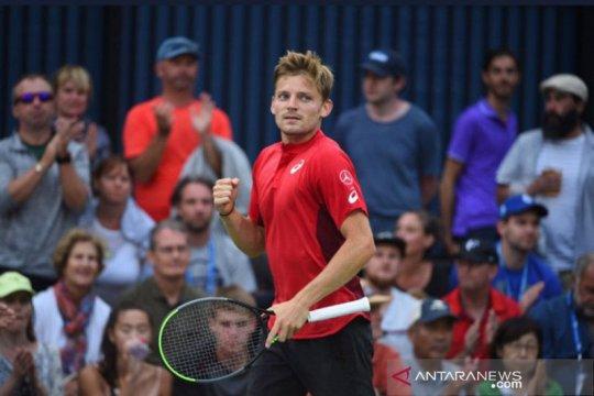 Goffin jadi penantang Djokovic di semifinal China Open 2019