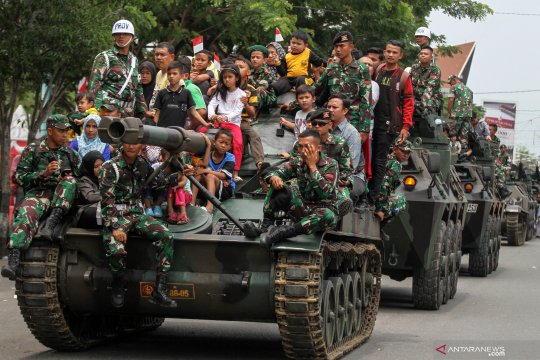 Semarak HUT ke-74 TNI di Aceh