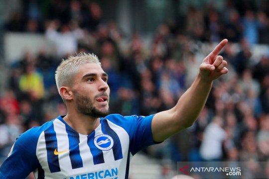 Liga Inggris: Babak I Brighton & Hove Albion unggul 2-0 atas Hotspur