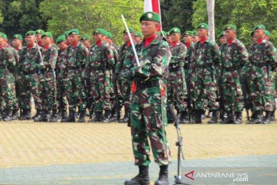 HUT TNI, Danrem 045 tekankan prajurit perkokoh keimanan