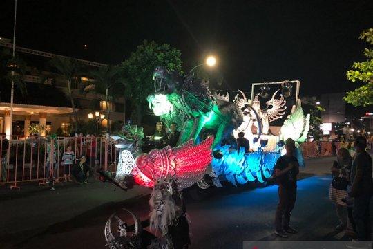Sejumlah ruas jalan di Yogyakarta akan ditutup selama karnaval