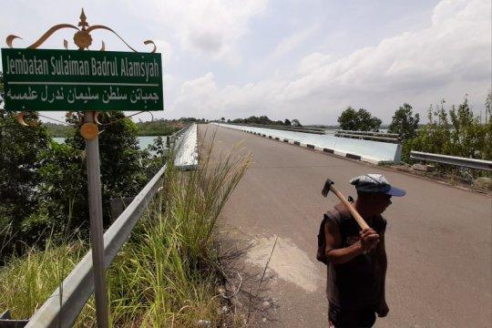 Polres Tanjungpinang selidiki kerusakan Jembatan II Dompak