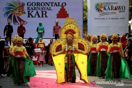 Menpar apresiasi Gorontalo Karnaval Karawo 2019