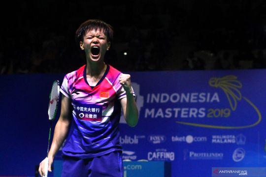 China juara tunggal putri Yuzu Indonesia Master