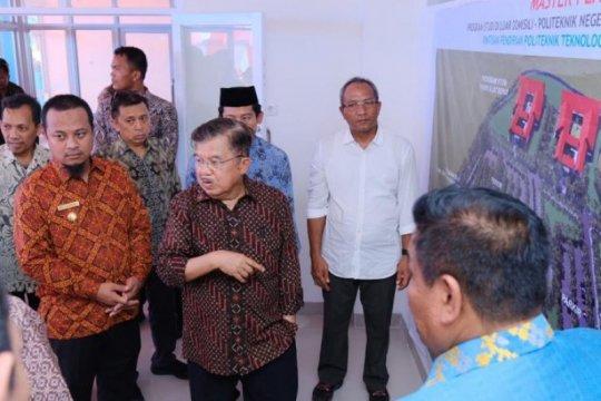 Wapres Jusuf Kalla resmikan Poltek Bone