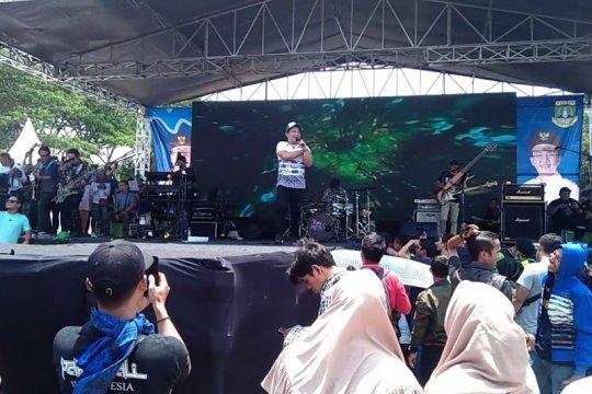 Wali Band tutup rangkaian HUT ke-19 Provinsi Banten