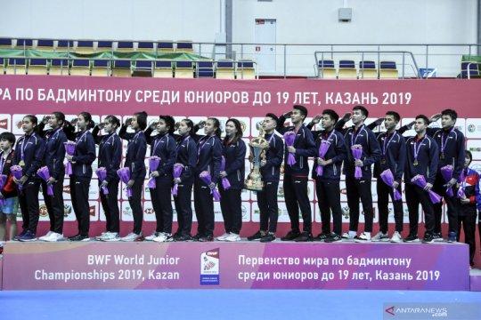 Kejuaraan dunia junior ditunda, timnas terus matangkan persiapan