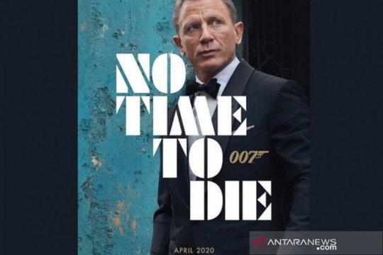 """Poster pertama James Bond """"No Time to Die"""" dirilis di Twitter"""