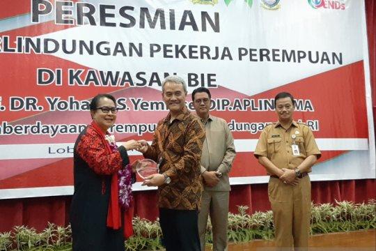 Menteri PPPA resmikan rumah perlindungan pekerja perempuan di Bintan