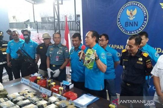 BNN gagalkan penyelundupan 38 kg sabu-sabu di Kaltim