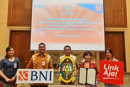 Pemakaian aplikasi pembayaran nontunai di Yogyakarta diperluas