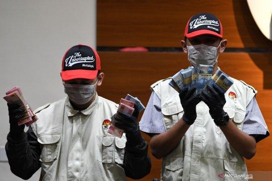 OTT Bupati Lampung Utara, KPK sita uang Rp600 juta